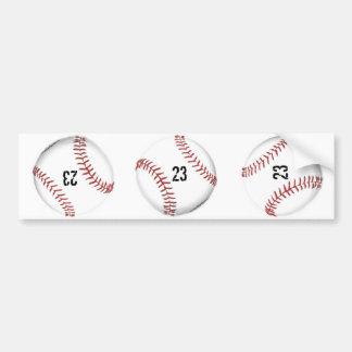 Baseball Theme bumper sticker Car Bumper Sticker