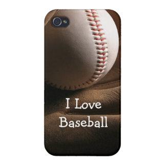 Baseball Theme iPhone 4 Case