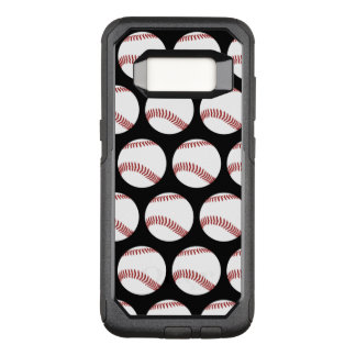 Baseball Theme OtterBox Commuter Samsung Galaxy S8 Case