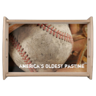 Baseball Theme Serving Tray