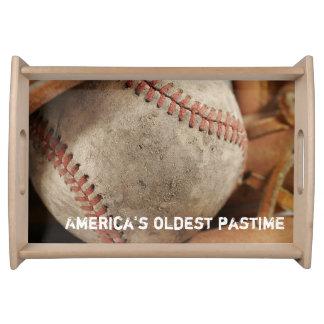 Baseball Theme Serving Tray
