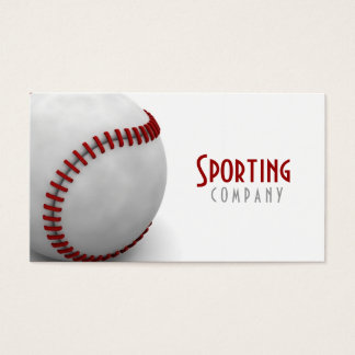 Baseball Themed Business Card