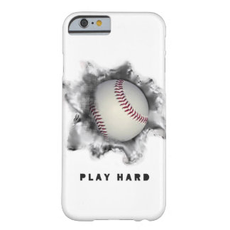 baseball-themed phone case barely there iPhone 6 case