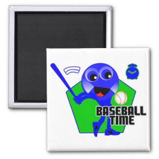 Baseball Time Magnets