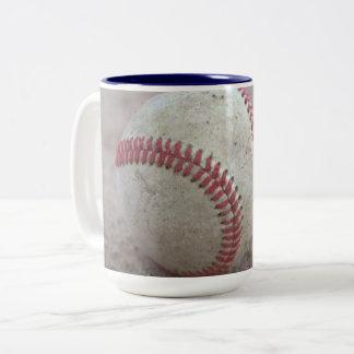 Baseball Two-Tone Coffee Mug