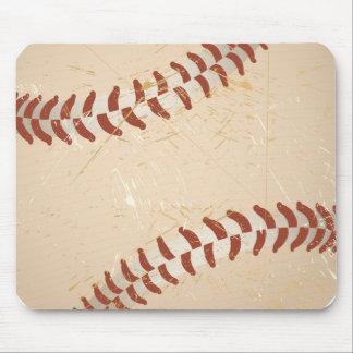 baseball vintage mouse pad