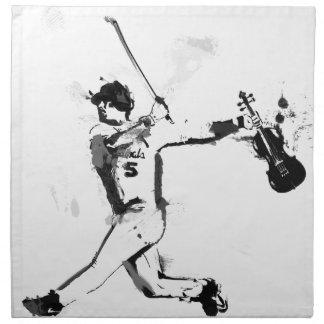 Baseball Violinist Napkin