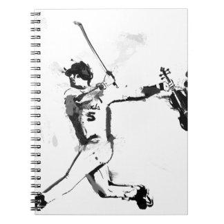 Baseball Violinist Spiral Notebook