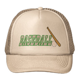Baseball with Bat n Ball Hats