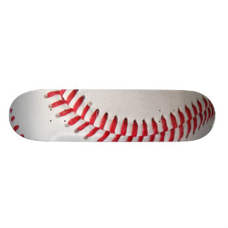 Baseball with Red Stitching 18.1 Cm Old School Skateboard Deck
