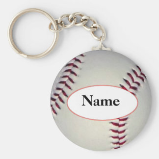 Baseball with your nasty on it key ring