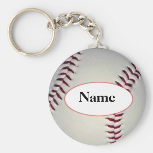 Baseball with your nasty on it keychains