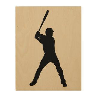 Baseball Wood Wall Decor