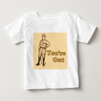 Baseball You're out T Shirt