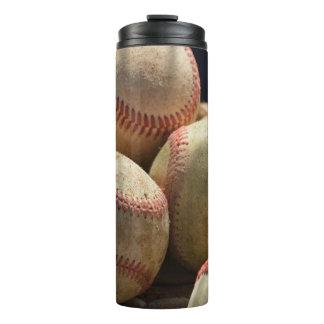 Baseballs and Glove Thermal Tumbler