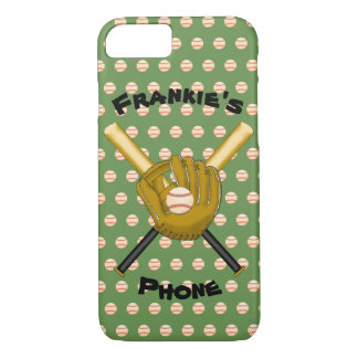 Baseballs & Bats Cell Phone Case