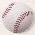 Baseballs - Customise Baseball Background Template Beverage Coaster
