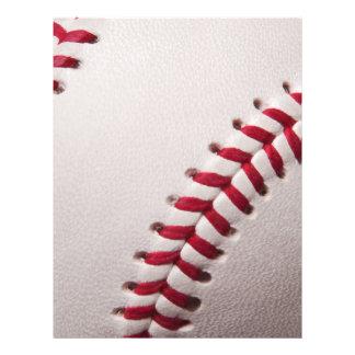 Baseballs - Customize Baseball Background Template 21.5 Cm X 28 Cm Flyer