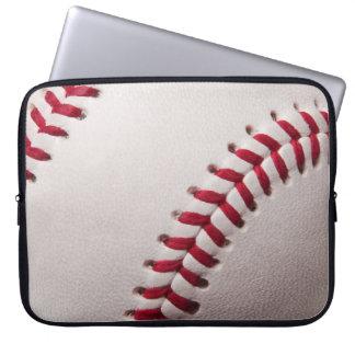 Baseballs - Customize Baseball Background Template Laptop Computer Sleeves