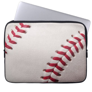 Baseballs - Customize Baseball Background Template Laptop Sleeves