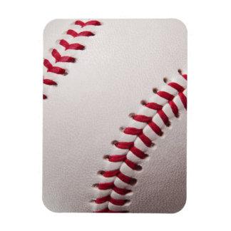Baseballs - Customize Baseball Background Template Rectangular Photo Magnet