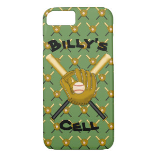 Baseballs & Gloves Cell Phone Case