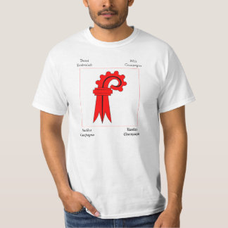 Basel Four Language Swiss Canton Flag T-Shirt