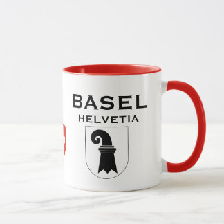 Basel Switzerland Crest Coffee Mug