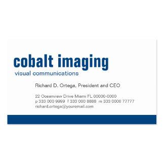 Baseline Panel Cobalt Pack Of Standard Business Cards