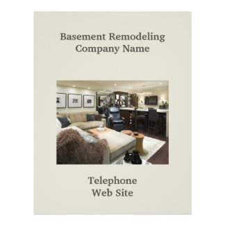 Basement Remodeler  Business Flyer