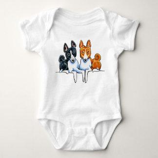Basenji Buds Baby Bodysuit