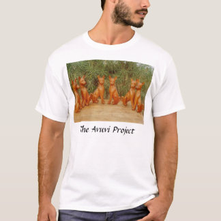Basenji Carvings T-Shirt
