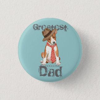 Basenji Dad 3 Cm Round Badge