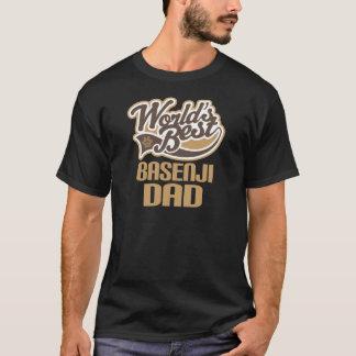 Basenji Dad (Worlds Best) T-Shirt