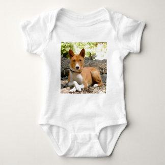 Basenji Dog Baby Bodysuit