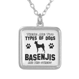 basenji dog designs custom jewelry