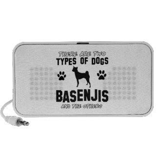 basenji dog designs iPod speaker