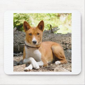 Basenji Dog Mouse Pad