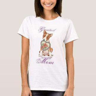 Basenji Heart Mom T-Shirt