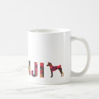 Basenji Hound Dog Colorful Graphic Multi Mug