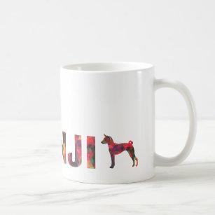 Basenji Hound Dog Colourful Graphic Multi Mug