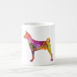 Basenji in watercolor 2 coffee mug