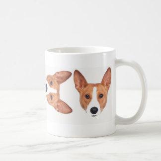 Basenji Mug (r/w)
