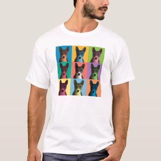 Basenji Pop-Art T-Shirt