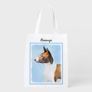 Basenji Reusable Grocery Bag