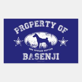 Basenji Stickers