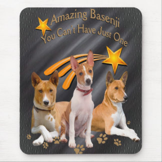 Basenji You Can't Have Just One Mousepad