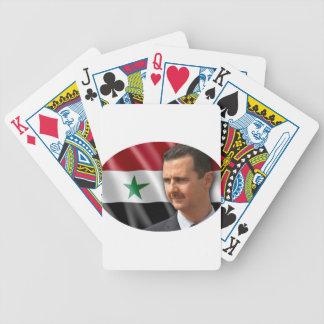 Bashar al-Assad بشار الاسد Bicycle Playing Cards