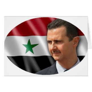 Bashar al-Assad بشار الاسد Card