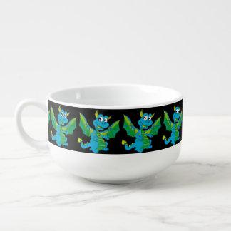 Bashful Dragon Soup Bowl